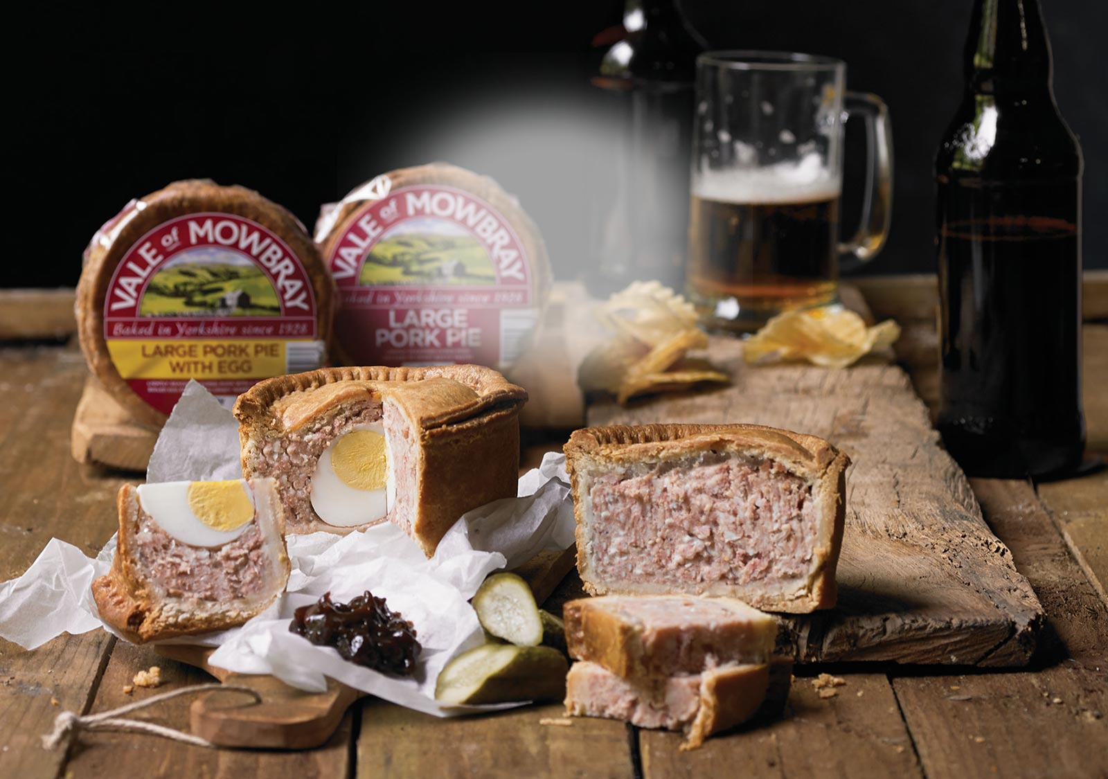 Savoury Pork Pie Accompaniments