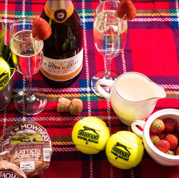 A Wimbledon Inspired Pork Pie Buffet 