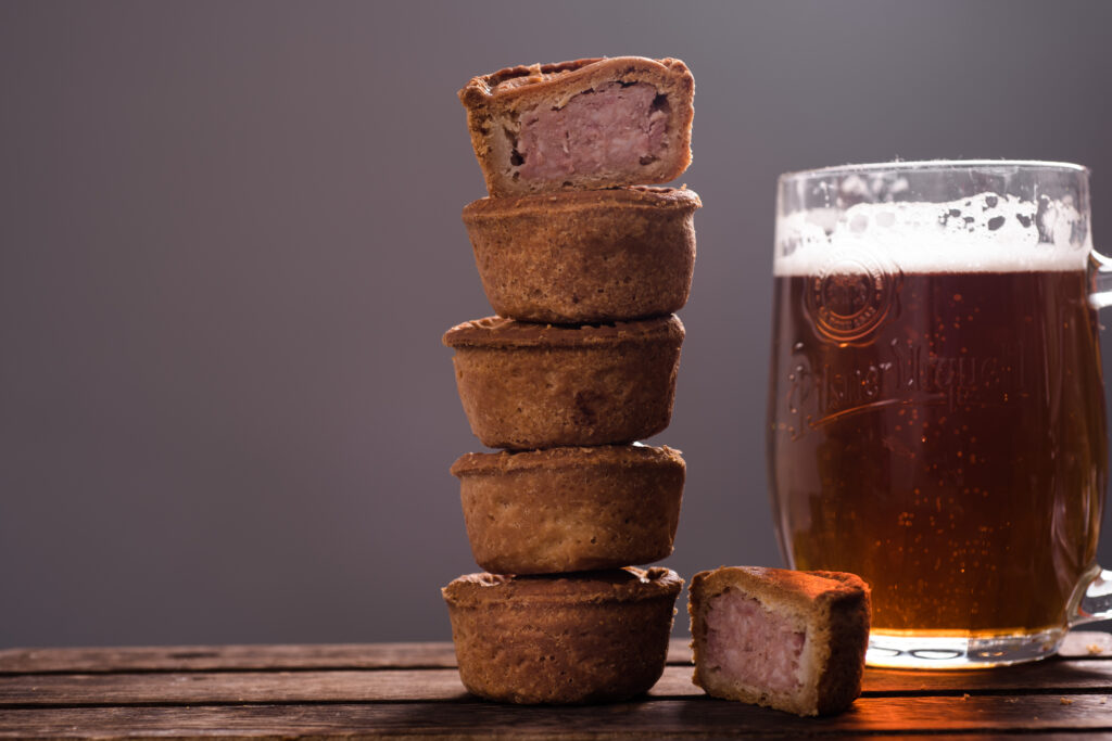 Fancy a Pork Pie and a Pint? It's International Beer Day!