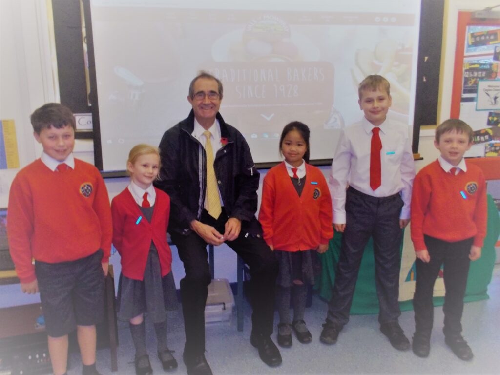 Vale of Mowbray Supports Local Primary School