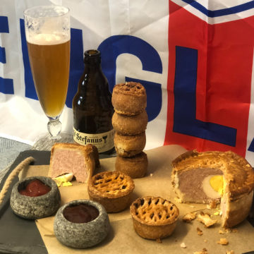 England V Belgium; A World Cup Pork Pie