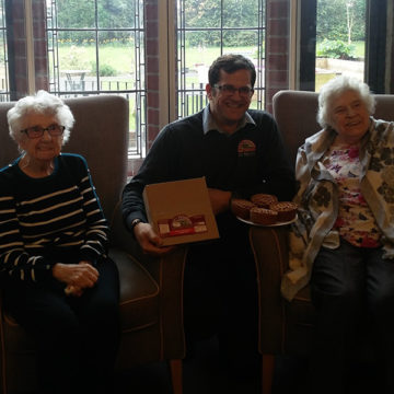 A Welcome 'Sur-pies' for Leeming Garth Care Home.