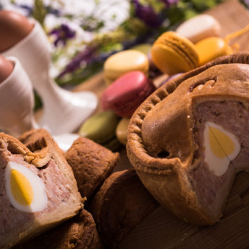 A Pork Pie Easter Sunday Dinner