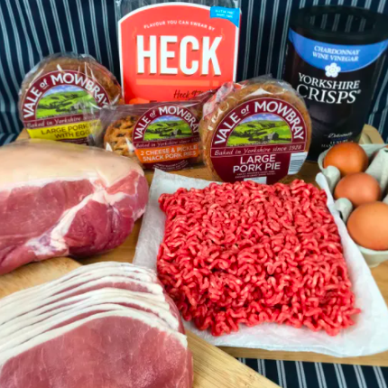 Home delivery; our meat boxes!