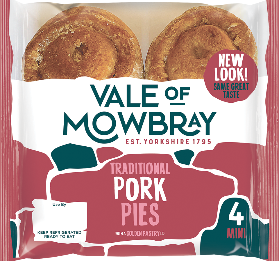 Vale of Mowbray - Traditional Pork Pies